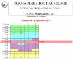 horaire trophee normandie
